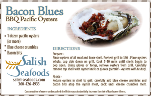 Salish Seafoods Bacon Blues Recipe